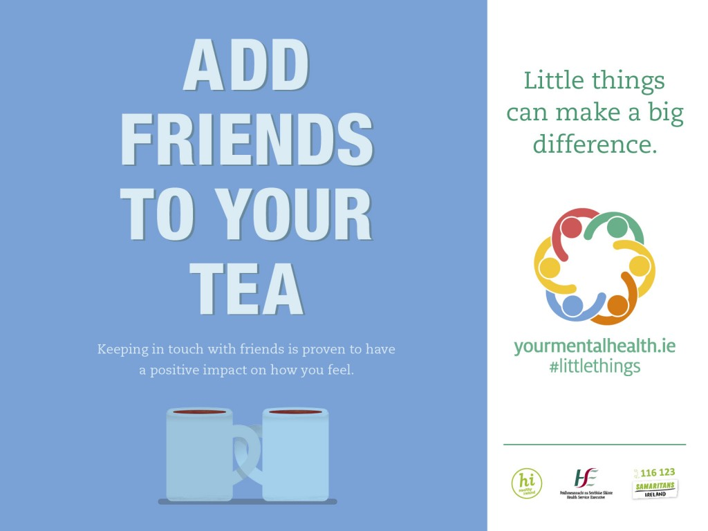 Add Friends to Your Tea